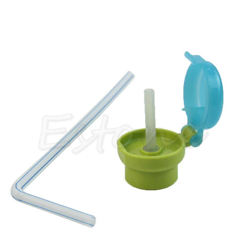 ดื่มฟางดูดหมวกขายดีเด็กเด็กเด็กทารกเด็กวัยหัดเดินให้อาหารฟางดื่มหลอดฝาขวดFR024