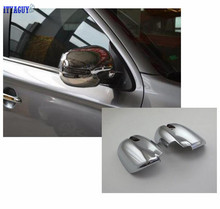 Car styling ABS Chrome Mirror Decoration Trim For Mitsubishi ASX 2016 Rearview Side Mirror Cover Trim car accessories