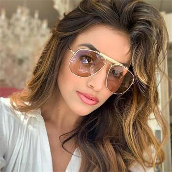 Женские винтажные солнцезащитные очки в стиле пилота