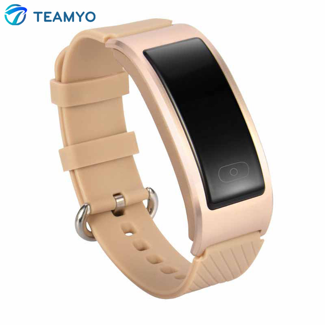 Teamyo DF23 Sports Bracelet Smart Band Swimming Waterproof Heartrate Monitor Intelligent Clock SMS Call Reminding Wristband