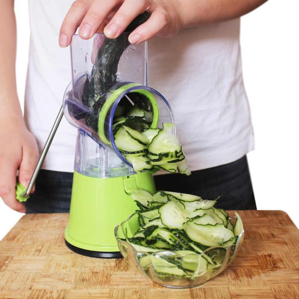 Multifungsi Tangan Memutar Daging Mincer Sosis Manual Penggiling Daging Rumah untuk Mengiris Daging/Sayuran/Bumbu Pisau Dapur alat