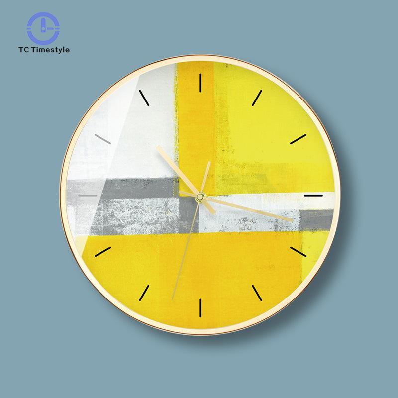 12 Inch Wall Clock Nordic Household Mute Living Room Bedroom Minimalist Modern Decorative Wall Watch Quartz Round Clocks