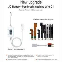 JC C1 câble de réparation intelligent iPhone détecteur de courant et de tension pour iPhone 6 6 s 7 8 8 P X réparation de lenracinement de charge de défaut de carte mère
