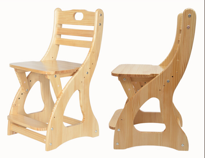 Merveilleux Modern Wooden Study Chair For Student, Children, Kids Furniture Seat Height  Adjustable Student Chair Pine Wood Children Chair In Children Chairs From  ...