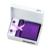 Lazos para hombre Sólido Púrpura de Seda Jacquard Corbata Hanky Gemelos Caja de Regalo Conjunto de Bolsas Banquete de Boda de Negocios Corbata Para Los Hombres B-281