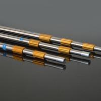 1.5m 1.7m 1.9m 2.1m 2.5m 3m Head Ring Prong Harpoon Spear Rod Fish Dip Net Stainless Steel Telescopic Plants Sickle Bar Pole