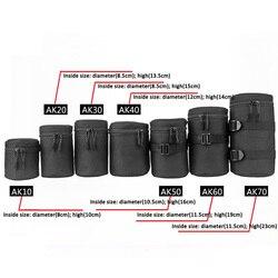 Роскошный Водонепроницаемый чехол для объектива камеры DSLR Nikon Canon Sony Olympus мягкий чехол
