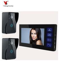 Yobang Security Freeship 7″Color TFT LCD Video Door Phone Video Doorbell Door Intercom With High Definition Home Security Camera