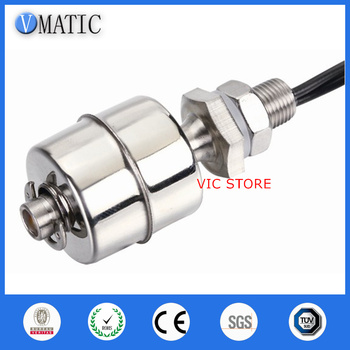 Free Shipping VC1045-S Stainless Steel Magnet On Off Ball Balls Sensor Detection Liquid Switches Water Level Float Switch