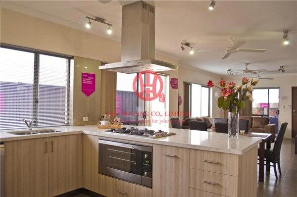 Colore venature del legno laminato armadio da cucina moderna ...