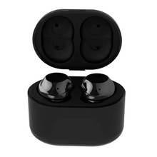 TWS X6 Bluetooth earphone Twins Portable Mini Wireless Ear Bud Stereo with charging cradle Lightweight for phone mic