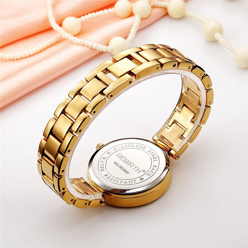 REBIRTH Staal Band Dames Horloges Casual Dames Horloges Topmerk Luxe - Dameshorloges - Foto 5
