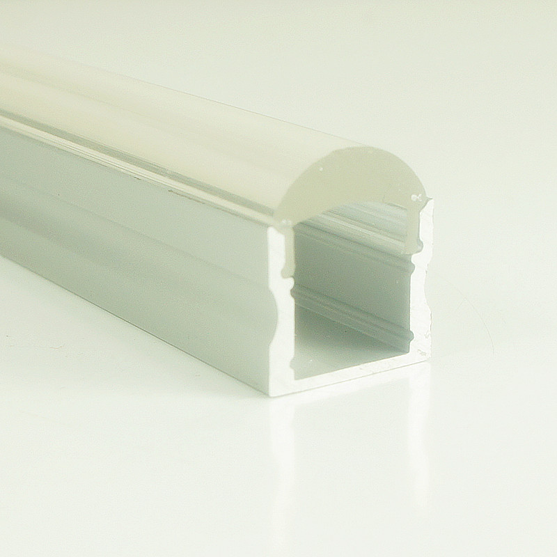 купить 5pcs 15mm Deep Recessed Aluminum LED Profile 60 Degrees Lens,Compatible for Strip Width within 12mm недорого