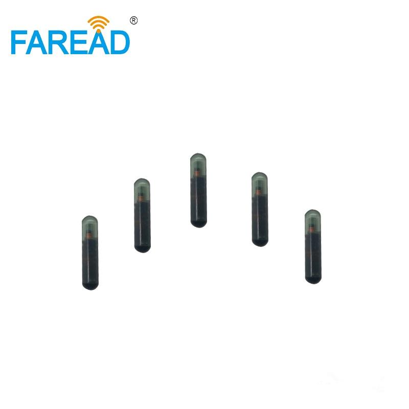 X80pcs 2.12*12mm RFID Transponder 125KHz UID/ID64/Manchester/Unique/64bit RFID Glass Tags