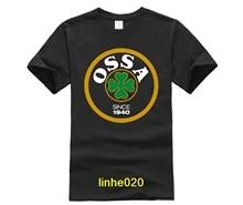 Classic OSSA Retro Logo Tee Shirt Men's T-shirt Lambretta Scooter Gilera Derbi Moto Guzzi Aprilia Motorbike все цены