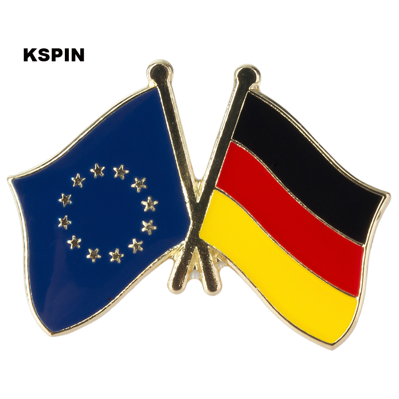 Australia France Friendship Flag Label Pin Metal Badge Badges Icon Bag Decoration Buttons Brooch For Clothes 1pc To Have A Long Historical Standing Apparel Sewing & Fabric