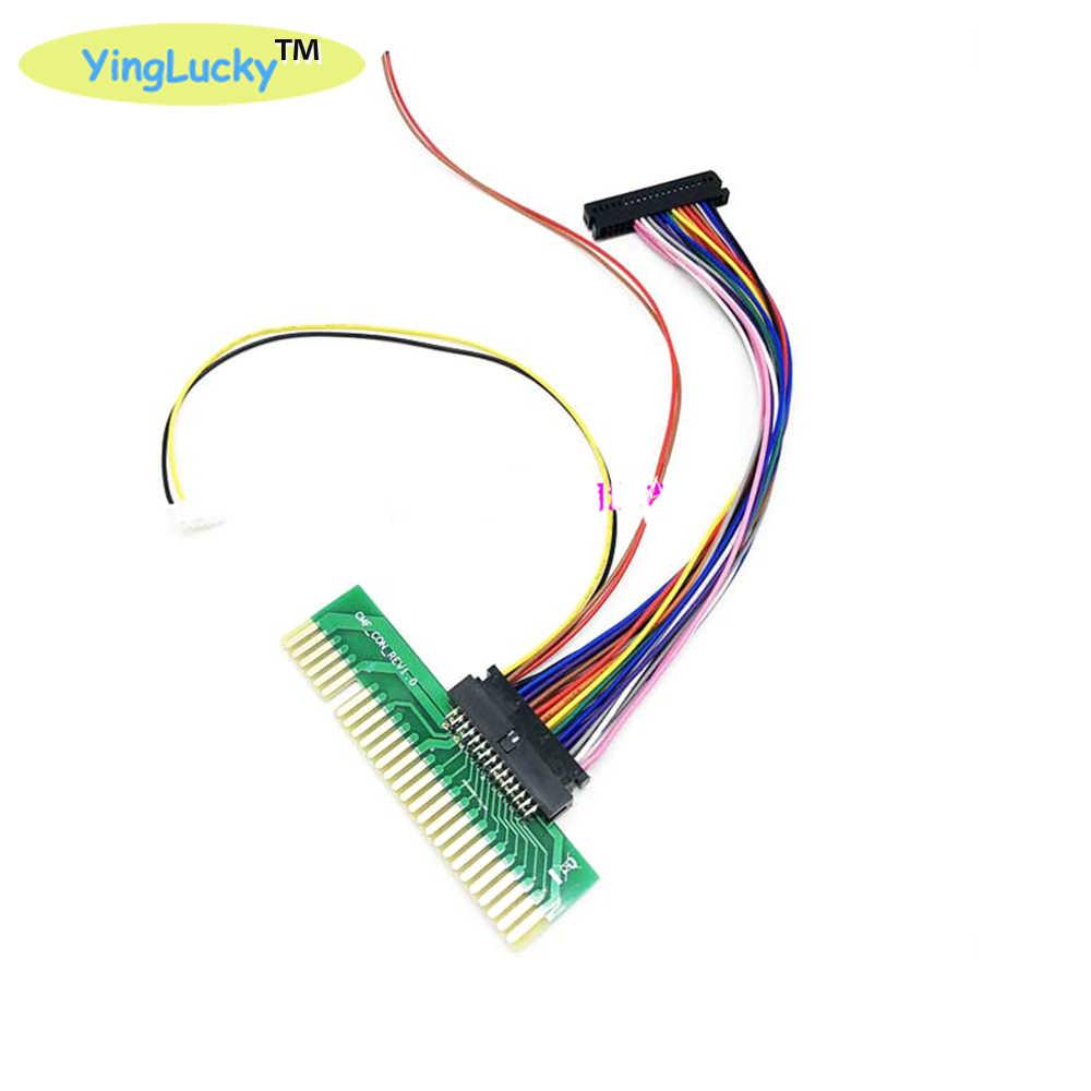 Jamma with original 판도라 박스 6 컨버터 보드 와이어 하네스 jamma 버전으로 가족 버전을 변환 28pin harness wire0 + 9