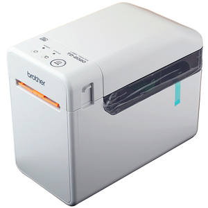 Image 2 - Label Machine TD 2020 Thermal Computer Label Printer Portable Self adhesive Label Bar Code Printer BROTHER  TD 2020 labe