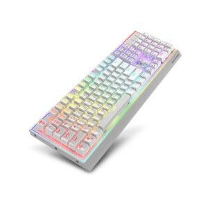 Image 4 - Механическая игровая клавиатура Machenike K1, синяя ось, черная ось, коричневая ось, rgb порты, игровая клавиатура, ноутбук, компьютер
