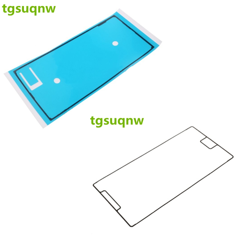 100 pieces lot Lcd Screen Back Cover Adhesive Glue For Sony Xperia XZ Premium G8142 middle