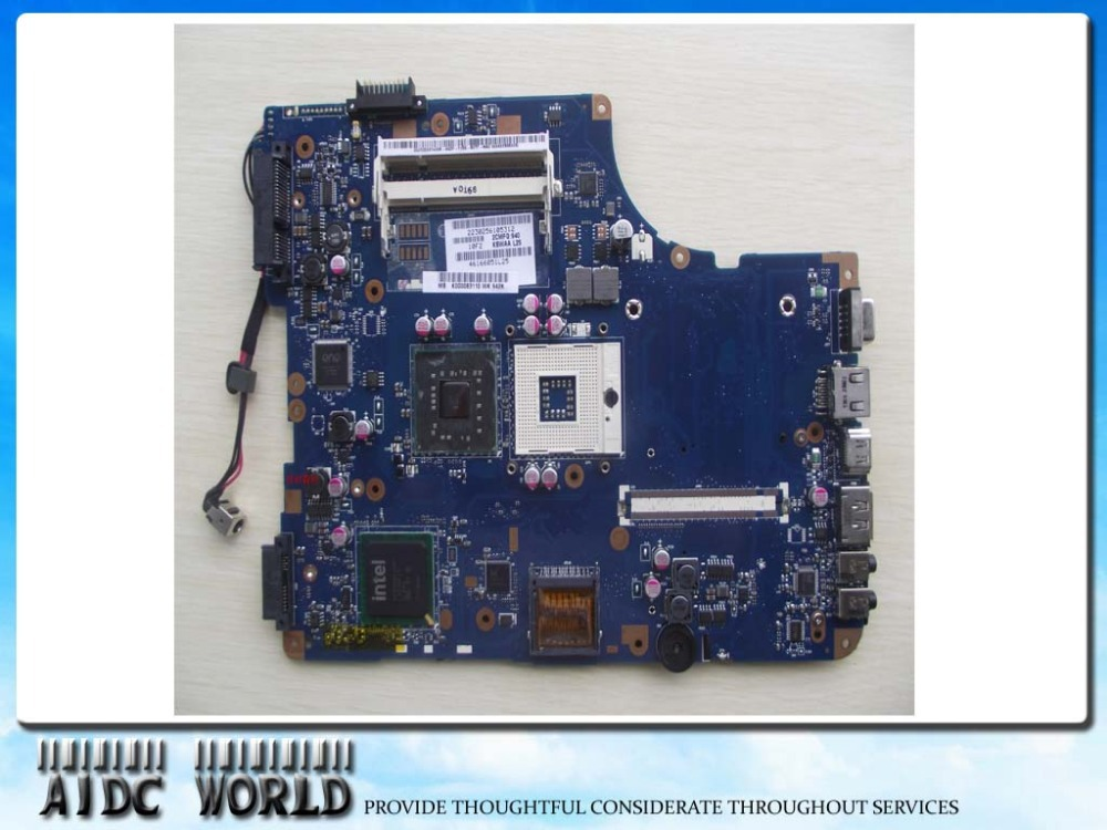 MOTHERBOARD FOR TOSHIBA Satellite L500 K000083110 KSWAA LA-4981P GL40 CHIPSET (USE DDR2 RAM)100% TESTED GOOD k000092540 laptop motherboard for toshiba satellite l500 nswaa la 5321p tested good