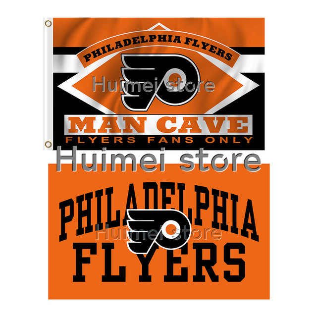 meet ae536 bb016 US $6.9 |Philadelphia Flyers flag 3ftx5ft Banner 100D Polyester Flag metal  Grommets-in Flags, Banners & Accessories from Home & Garden on ...