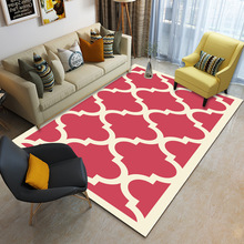 New Nordic Style Carpets For Living Room Simple 3D Printed Carpet Big Size High Quality Home Mat Modern Thicken Parlor Rugs
