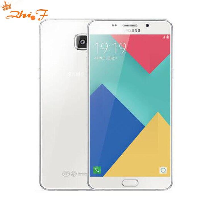 "Samsung Galaxy A9 Pro 2016 Duos Ursprünglicher freigesetzter 4G LTE Doppel-Sim-Handy 6.0 ""16MP A9100 Octa Core RAM 4 GB ROM 32 GB neu"