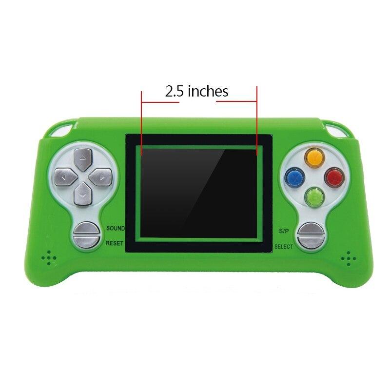QualitäT In Intellektuell 2,5 hd Screen Handheld Spiele Konsolen Mini Video Spiele Konsolen Klassische Spiel Tragbare Kinder Gamepads üBerlegene
