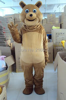 Bear mascot costume carnival costume adult costume free shipping