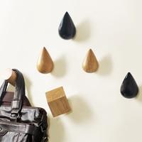 Креативный бетонный крючок для пальто, силиконовая форма, форма капли воды, дизайн, Украшение стен, цементный крючок, форма квадратной стены...