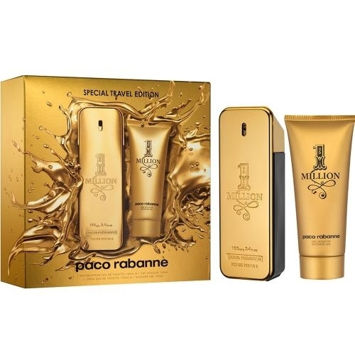 GIFT/SET 1 MILLION BY PACO RABANNE 2PCS. [3.4 FL By PACO RABANNE For MEN цена 2017