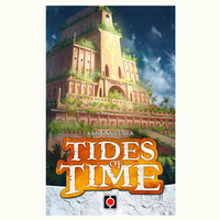 Tides Of Time Board Game 2 Players Cards Game Metal Box For Party Family Friends Easy