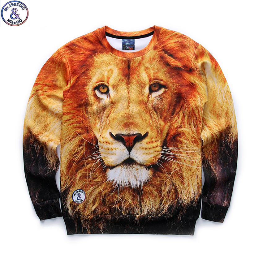 Mr.1991 brand 12-18 years big kids thin sweatshirt boys youth fashion lion king 3D printed hoodies girls jogger teenage W25 цена 2017