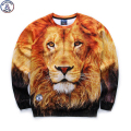 Mr.1991 brand 12-18 years big kids thin sweatshirt boys youth fashion lion king 3D printed hoodies girls jogger sportwear W25