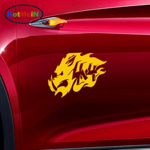 HotMeiNi Ferocious Domineering Wild Boar Tusks Totem Car Sticker for Truck Bumper SUV Motorcycle Car Cover Vinyl Decal10 Colors