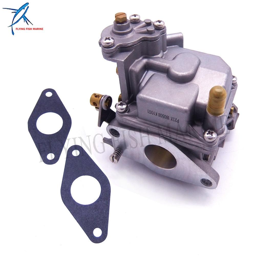 Outboard Engine Carburetor Assy 66M-14301-00 11  for Yamaha 4-stroke 15hp F15