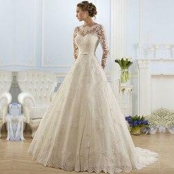 Ball gown bateau appliqued sexy backless lace bridal dresses vestido de noiva robe de mariage cheap.jpg 250x250