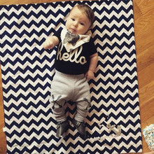 2016 New summer baby boy clothes set cotton Fashion letters printed T-shirt + pants 2pcs infants clothes baby boy suit