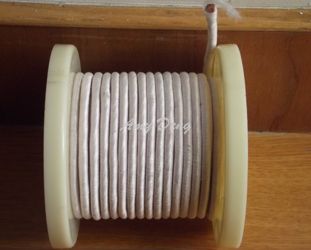 10 meters lot 0 1X1000 shares Litz strands of copper wire polyester wire