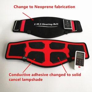 Image 3 - Ems加熱ベルト痩身マッサージ電気パルスemsトレーナー筋肉刺激鍼十理学療法myostimulator