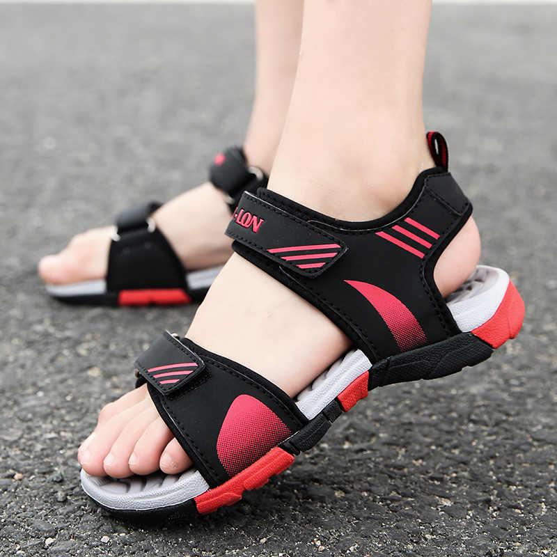 257fe8565497ac ... Kid Shoes Boys Girl 2019 Spring Summer New Design Beach Outdoor Sandals  TPR EVA Non Slip ...