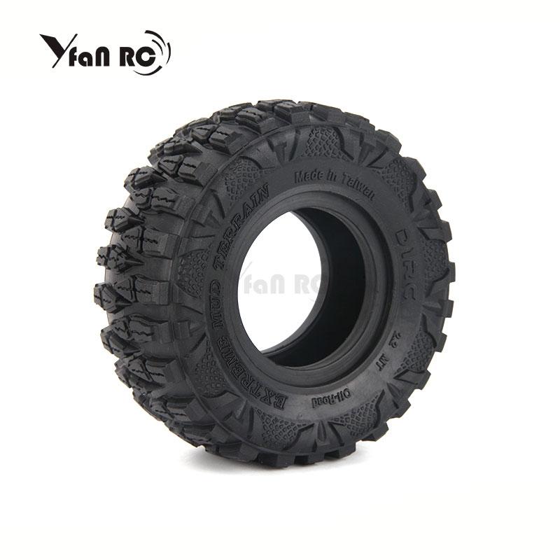 4PCS D1RC Super Grip 2.2 Inch Tires 120mm tires FOR 1/10 SCALE Axial 90018 90048 90045 90031 TRX4 D904PCS D1RC Super Grip 2.2 Inch Tires 120mm tires FOR 1/10 SCALE Axial 90018 90048 90045 90031 TRX4 D90