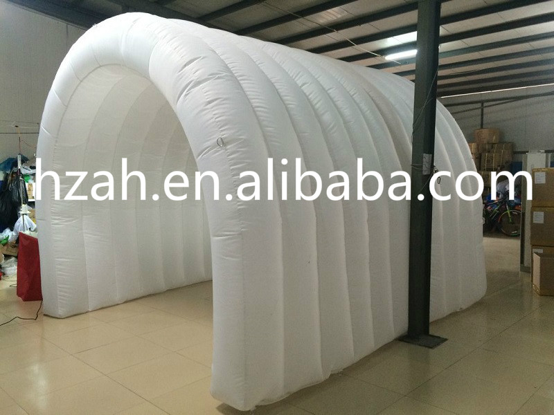 White Inflatable Tunnel Tent For Advertisement Decoration