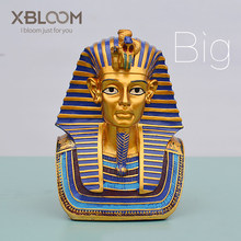 Jouet autocollant de la pyramide égyptienne | Statue de pharaon Egyptian, décoration de mariage pour la maison égyptienne, personnage du Christ religieux
