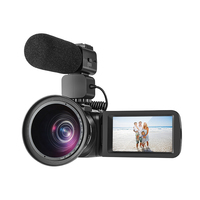 2018 новые 10X оптический zoom120X цифровой зум HDVZ80 полный HD1080p видеокамера профессионального поддержка захвата видео