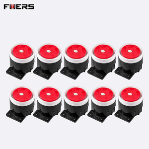 Image 2 - FUERS 5Pcs 10Pcs 120dB Loudly Alarm Siren Mini Wired Siren Horn for Home Security Alarm System W17 W18 W20 8218G 10A G2 G18 G19