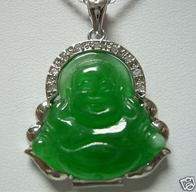 3568e0497c3cf US $11.88 |Hot sale>>Genuine Green STONE Buddha Pendant Necklace-in  Pendants from Jewelry & Accessories on Aliexpress.com | Alibaba Group