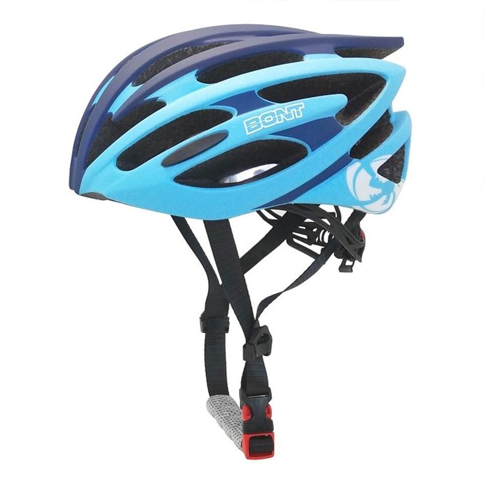 100% Original Bont Kids Ultralight Bicycle Helmet Cycling Helmet For Speed Skating Skateboard Capacetes Of Road MTB Bike Helmet bont