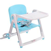 Dining Booster Seat Safety Belt Baby Highchair Child/Kids Dinner Feeding Chair Collapsible Foldable Portable, 0-16 kg(China)